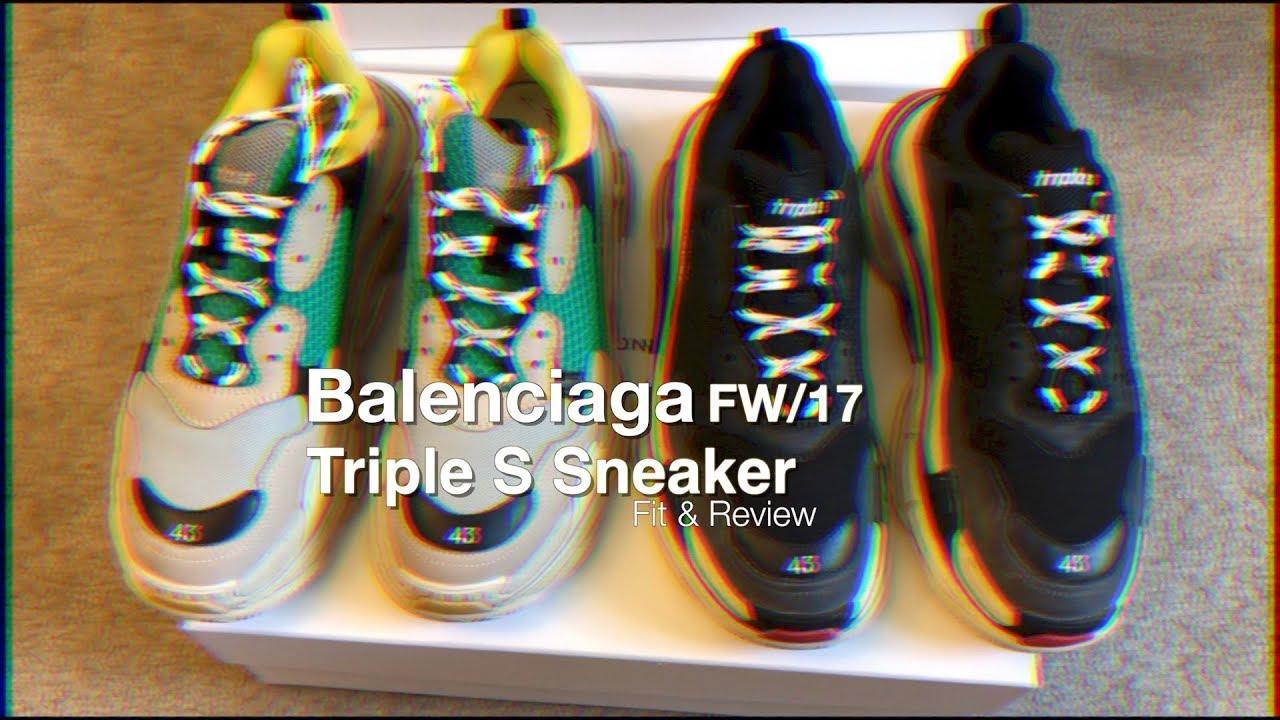 Balenciaga Triple S Sneaker Fit