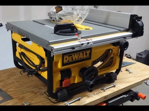 Getting The Most Out of Your DeWalt DW745 Jobsite Saw