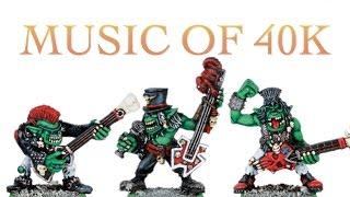 Warhammer 40K Music Spacemarine Battle Songs in 40K Idol