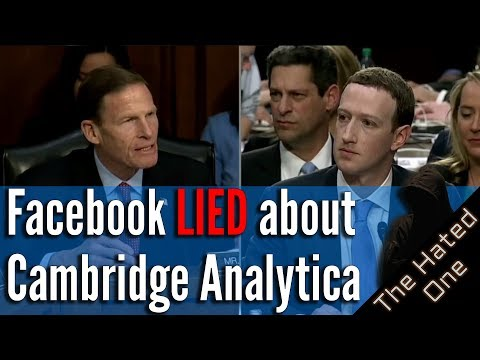 Facebook exposed for lying about Cambridge Analytica | Zuckerberg senate hearing highlight
