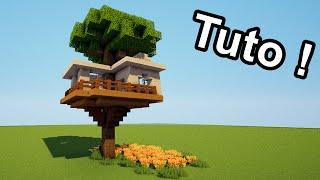 MINECRAFT TUTO - Comment faire une cabane dans un arbre ?