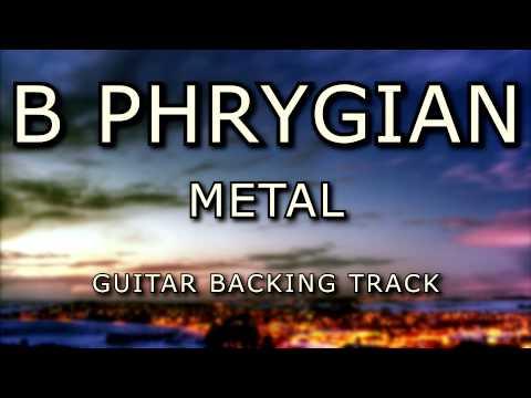 B Phrygian Metal Guitar Backing Track [ 7 String ]