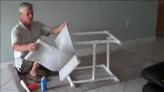 How To Install A Lawn Chair Cushion Sling