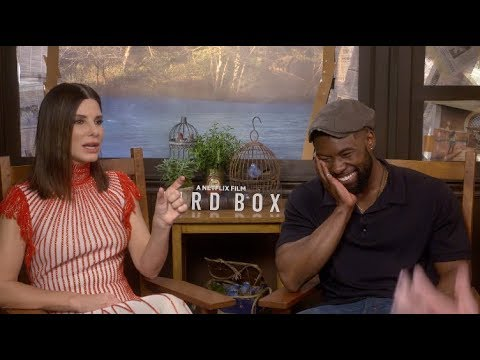 "Sandra Bullock thought she was going to have a ""nervous breakdown"" after ROMA - Bird Box interview"