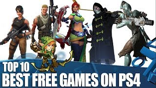 Top 10 Best Free Games On PS4