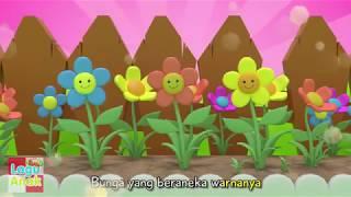BUNGA DI KEBUNKU |  Lagu Anak Indonesia