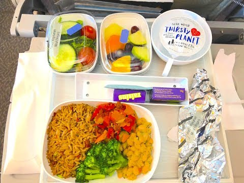 London To Sri Lanka via Dubai   Travelling as a Vegan   Emirates Airlines