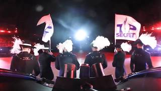 360 Top Secret Drum Corps at the Basel Tattoo 2018