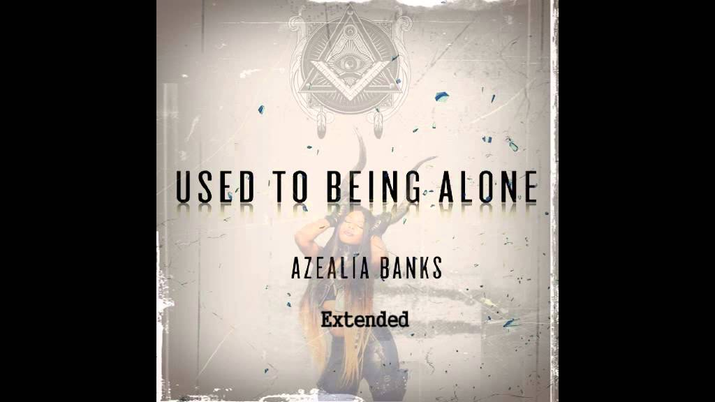 used to being alone
