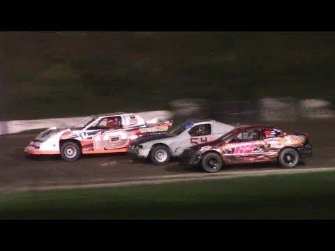 Mini Stock Feature | Genesee Speedway | 9-2-17