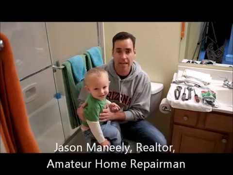 DIY Home Maintenance Toilet Repair, Prescott Arizona