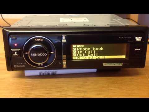 Kenwood KDC-BT61U Bluetooth MP3/WMA/AAC/CD-Receiver