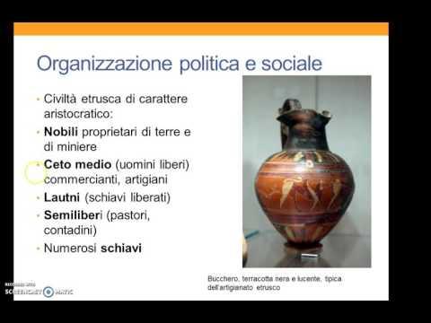 Etruschi economia e società