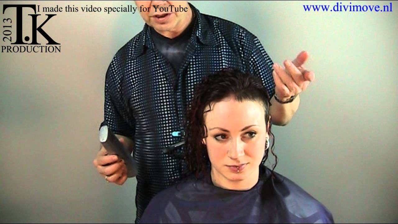 Perm and color my hair and shave my side! Joëlle by Theo Knoop ...