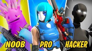 NOOB vs PRO vs HACKER - Fortnite Funny Moments #83