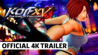 KOF XV VANESSA (TEAM SECRET AGENT) 4K Trailer