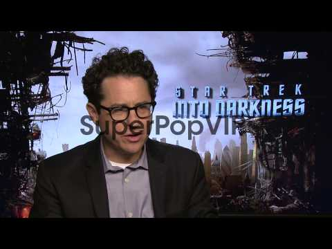INTERVIEW - J.J. Abrams on working on the new 'Star Wars'...