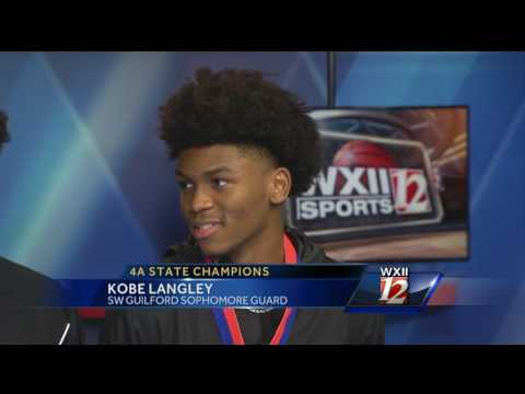 Langley Brothers stop by WXII 12 after winning  State 4A Title