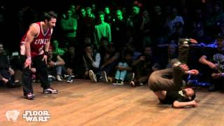 SUPER CREW vs FUNK FOCKERS Final | Copenhaguen, DK FLOOR WARS 2013