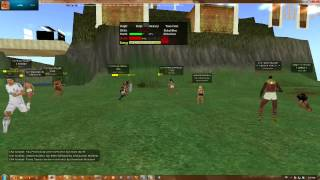 Second Life Raid : Athens Vs Egypt Loss 2-4