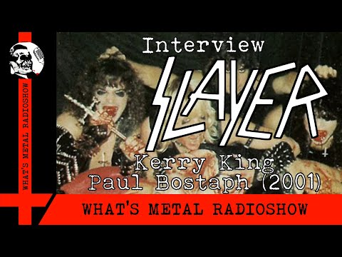 Interview SLAYER (Kerry King, Paul Bostaph) 2001 - Early Days, Post 9/11 And Banned Album Art