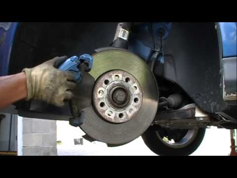 MK5 Front Rotors and Pads Removal and Install PART 1