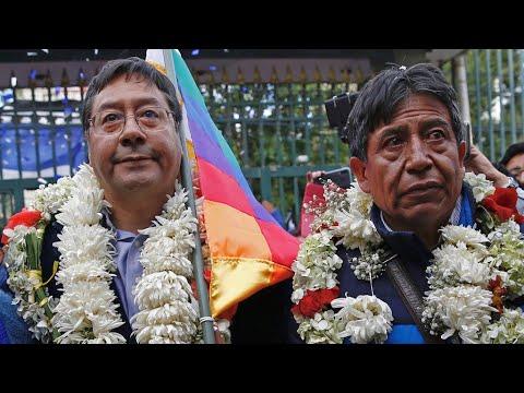 Con las fuerzas reducidas, comienza la campaña del MAS en Bolivia