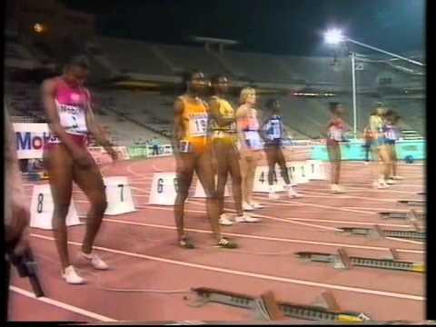 IAAF Grand Prix Final 1991 - womens 100m