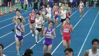 【頑張れ中大】日体大記録会5000m27組 川崎 2017.11.12