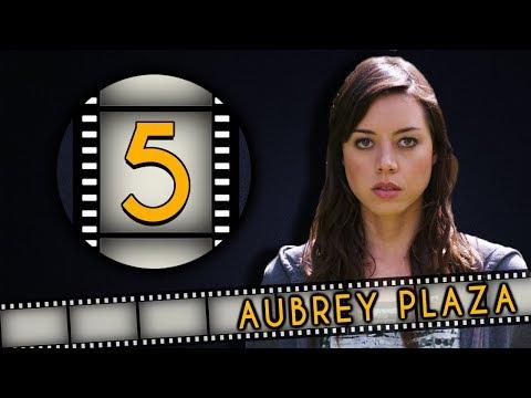 Top FIVE Aubrey Plaza Roles - Fanatic 5