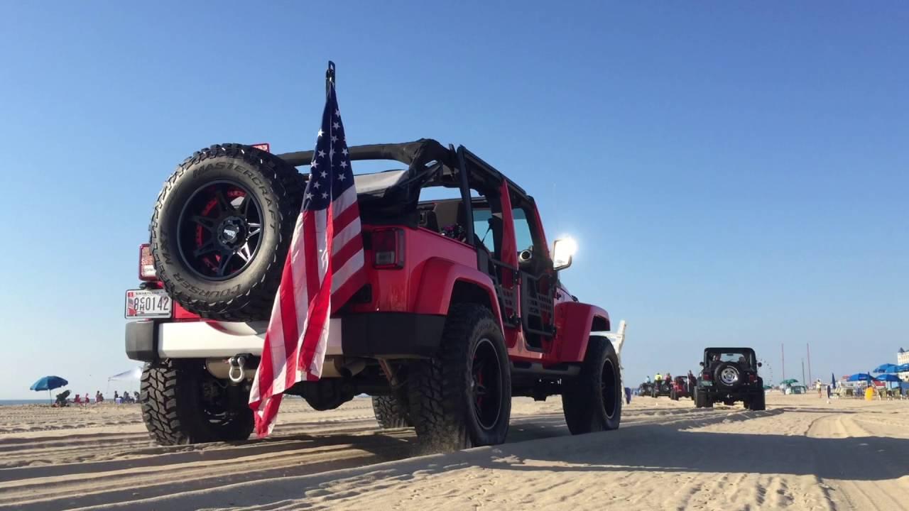 Ocean City Jeep Week 2016