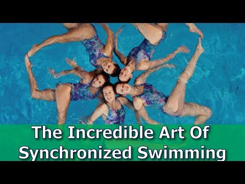 The Incredible Art of Synchronized swimming