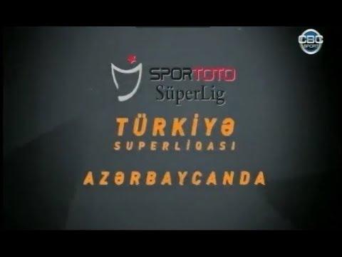 Türkiye Süperligi Azerbaycan'da CBC Sport'ta !!!