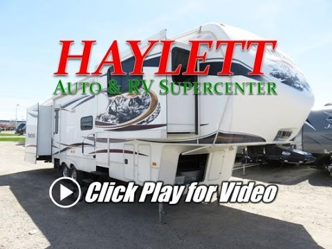 HaylettRV   2012 Keystone Montana 3750FL Used Front Living Room Fifth Wheel  RV