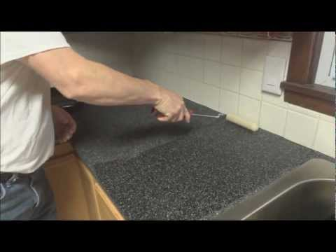 CounterTop Transformation the Rust-Oleum way
