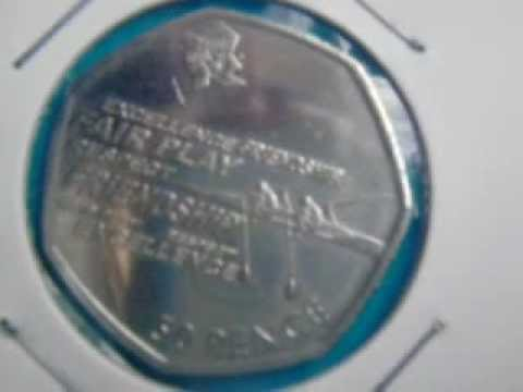 2012 Olympic Coins (great Britain)
