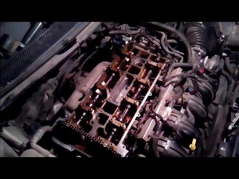#ремонтфордфокус2 Форд фокус 2 замена прокладки клапанной крышки