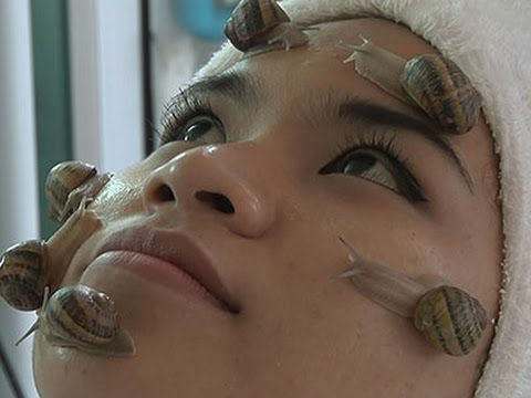 Slimey Snail Therapy Slides Into Thailand Spas