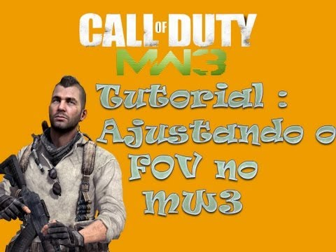 how to change fov on mw3