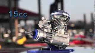 Small-block Gas Engines by Evolution Engines