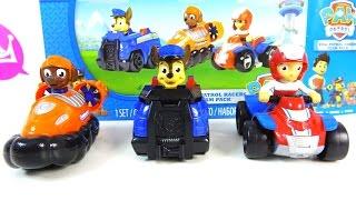 Машинки Щенячий патруль: Райдер, Гончик и Зума