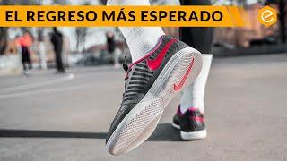 Las zapatillas de fútbol sala Nike Lunar Gato HAN VUELTO