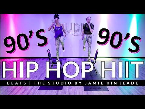 20 Minute Old School Hip Hop HIIT | The Studio by Jamie Kinkeade