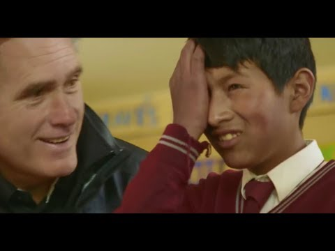 Mitt Romney and family in Peru with CharityVision