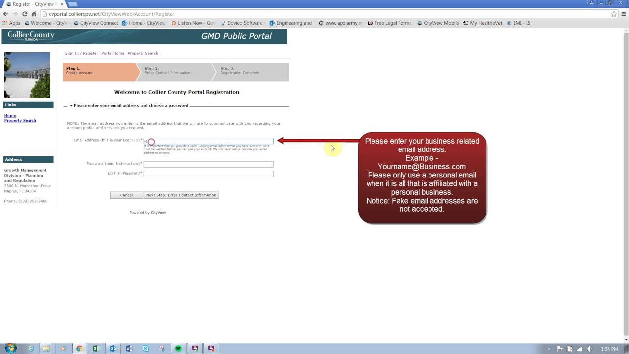 How to Register for GMD Public Portal