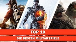 Die besten Militärspiele | Top 10