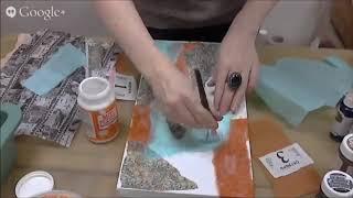 Декор, декупаж с фотографиями распечатками: видео МК по Микс Медиа Mixed Media Натальи Жуковой