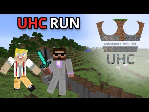 Jirka a Pedro Hraje - Minecraft Mini hry UHC RUN