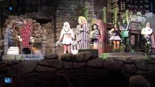beetlejuice s graveyard revue at universal studios florida complete final show 1 4 14