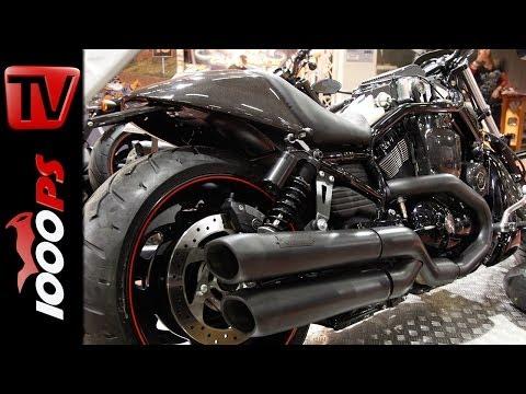 Harley Nightrod mit Kompressor - Tuning Bike - Harley Factory Frankfurt